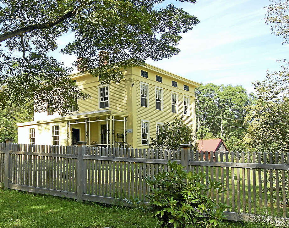 The 1852 Hubbard Farmstead is located at Middle Haddam Road in Portland. Photo: Contributed Photo