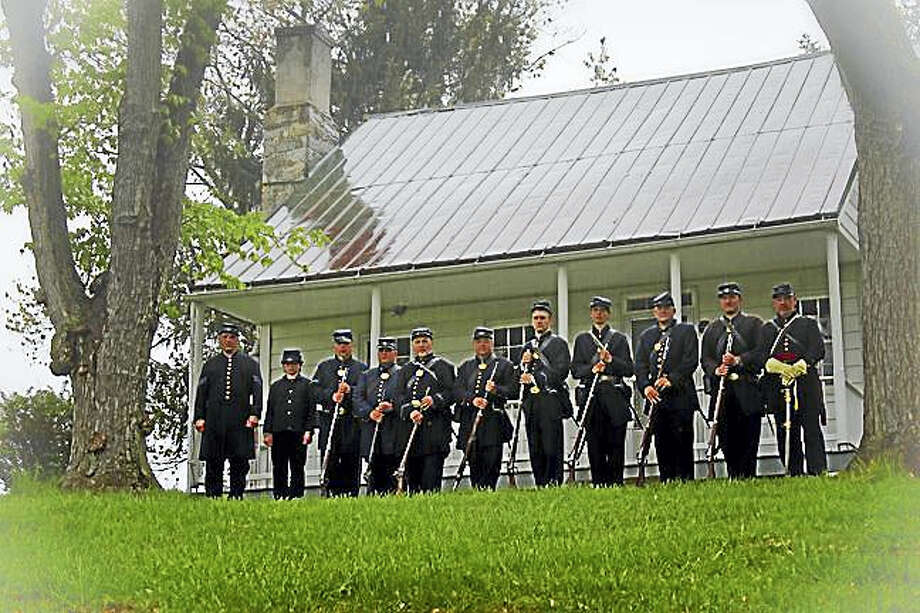 Company G of the 14th Connecticut Volunteer Infantry will stage a preservation march through the streets of Middletown on Saturday, Sept. 9. Photo: Contributed Photo