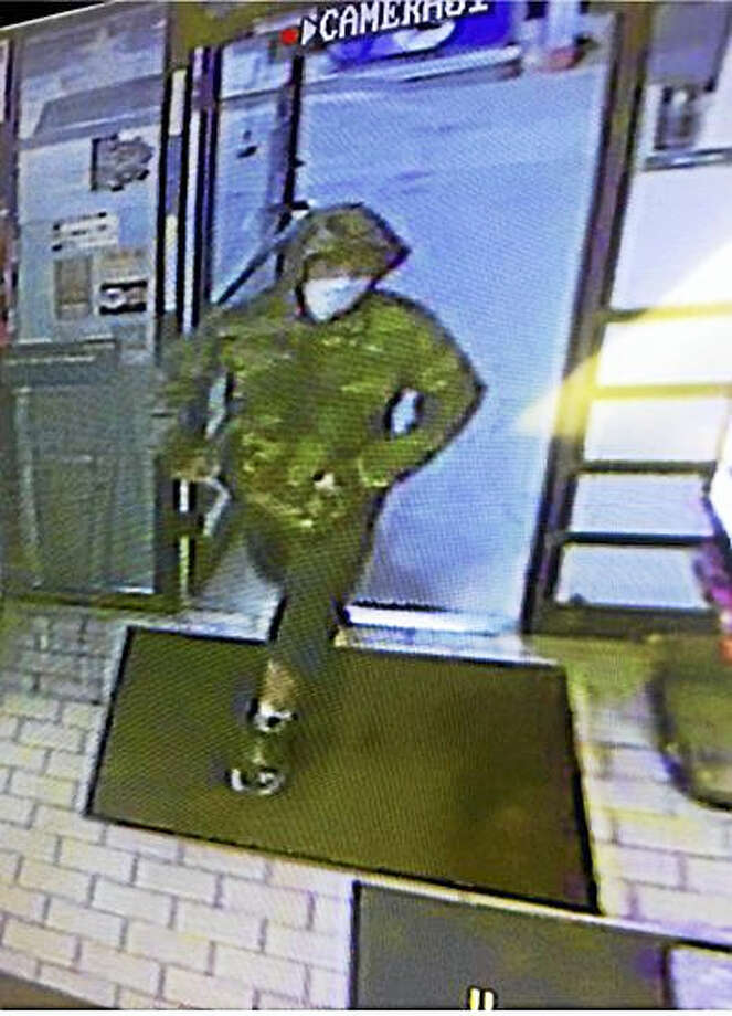 Police are looking to identify a suspect in connection with an armed robbery at a gas station in Essex. Photo: Photo Courtesy Of State Police