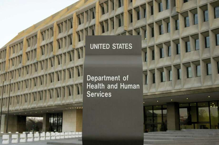 In this file photo, the Department of Health and Human Services building is seen in Washington.  A government audit finds that more than 1 in 4 cases of possible sexual and physical abuse against nursing home patients apparently went unreported to police. The Health and Human Services inspector general's office faults Medicare for failing to enforce a federal law that requires nursing homes to immediately notify police. Photo: Alex Brandon — The Associated Press File  / Copyright 2017 The Associated Press. All rights reserved.