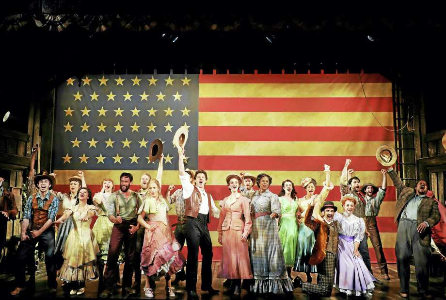 """The cast of """"Oklahoma!"""" welcomes theater-goers to performances at Goodspeed Musicals through Sept. 27. Photo: Contributed Photo  / ?2017 Diane Sobolewski"""