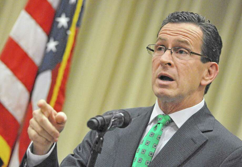 Gov. Dannel P. Malloy Photo: Middletown Press File Photo  / TheMiddletownPress