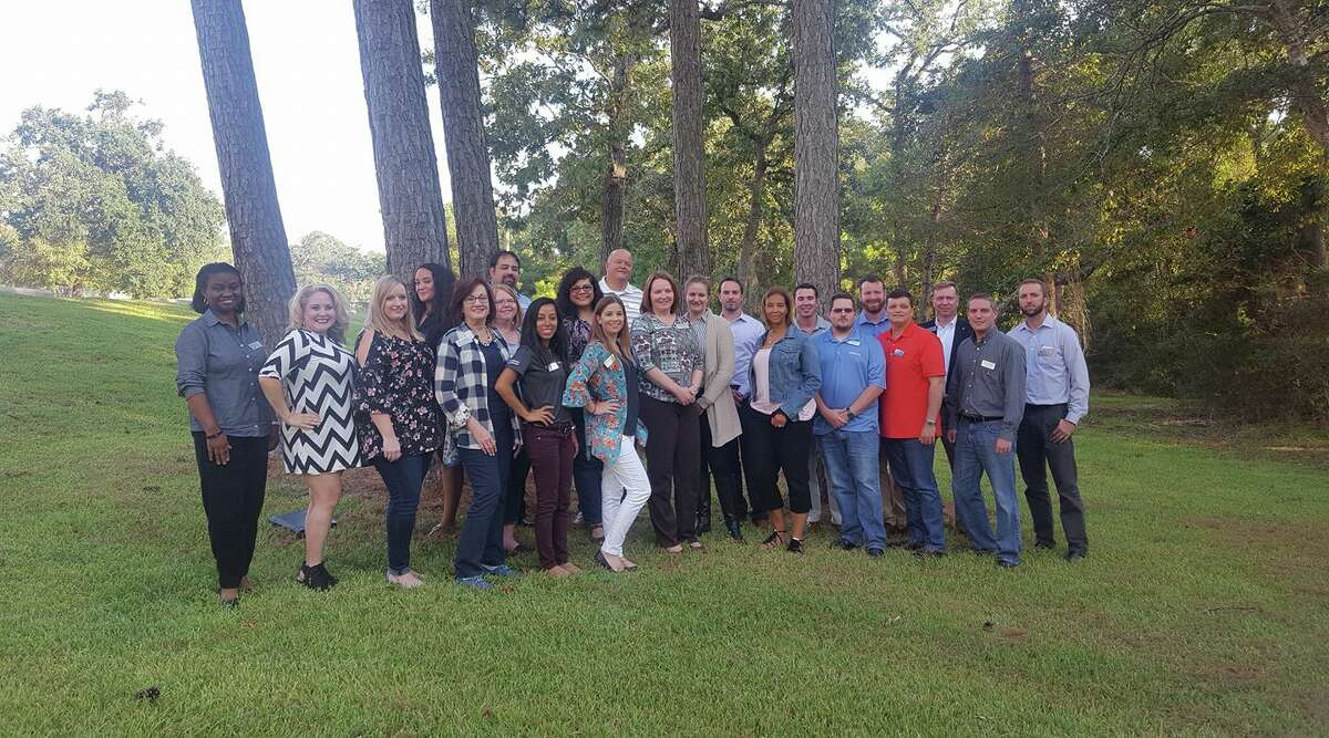 The current participants in the Leadership Lake Houston program.