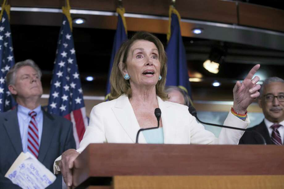 House Minority Leader Nancy Pelosi Photo: AP Photo — J. Scott Applewhite   / Copyright 2017 The Associated Press. All rights reserved.