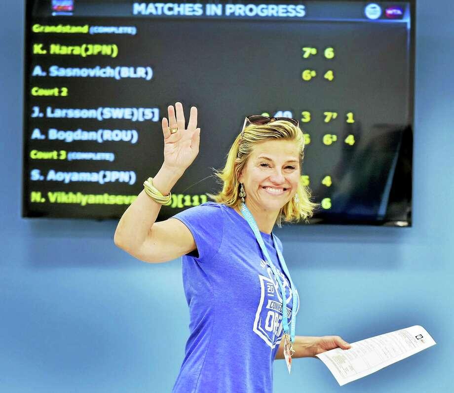 Connecticut Open tournament director Anne Worcester. Photo: Peter Hvizdak/Hearst Connecticut Media  / New Haven Register