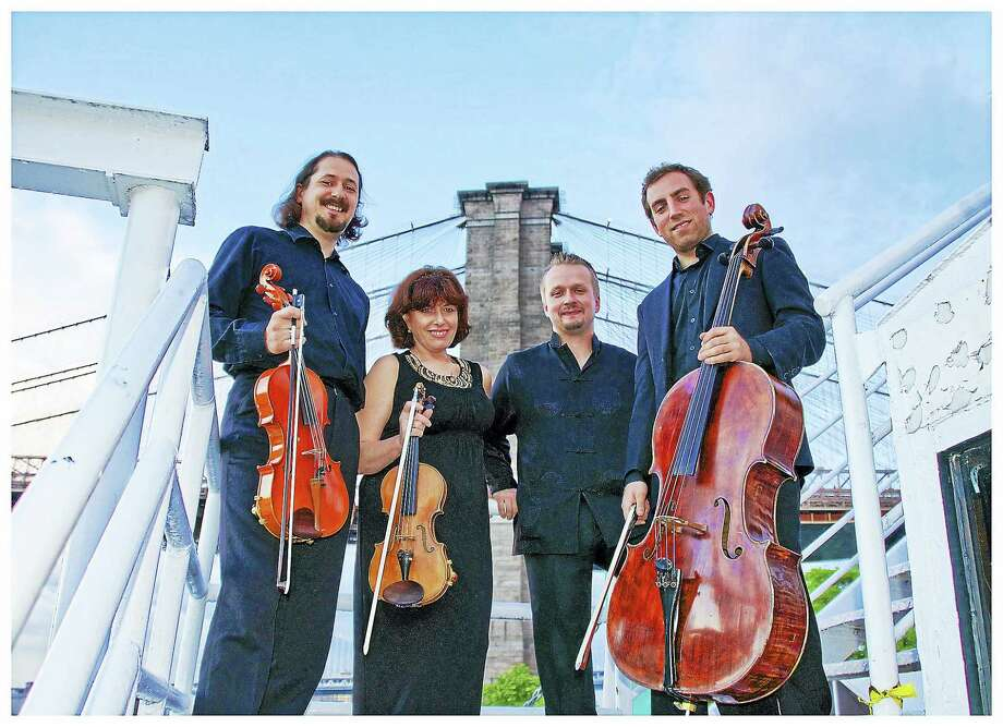 The St. Petersburg Quartet performs Sunday at Music Mountain, part of its ongoing music festival. Photo: Contributed Photo