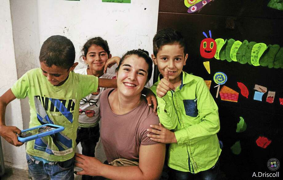 Ben Lambert / Hearst Connecticut MediaTorrington native Anna Driscoll recently spent months in Lebanon teaching English to children seeking refuge from the conflict in Syria. Photo: Digital First Media