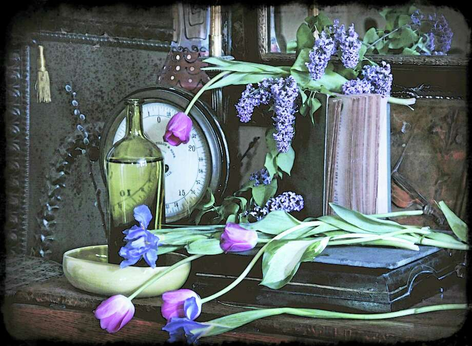 """""""Tulips"""" by Anita Garnett. Photo: Contributed Photo"""