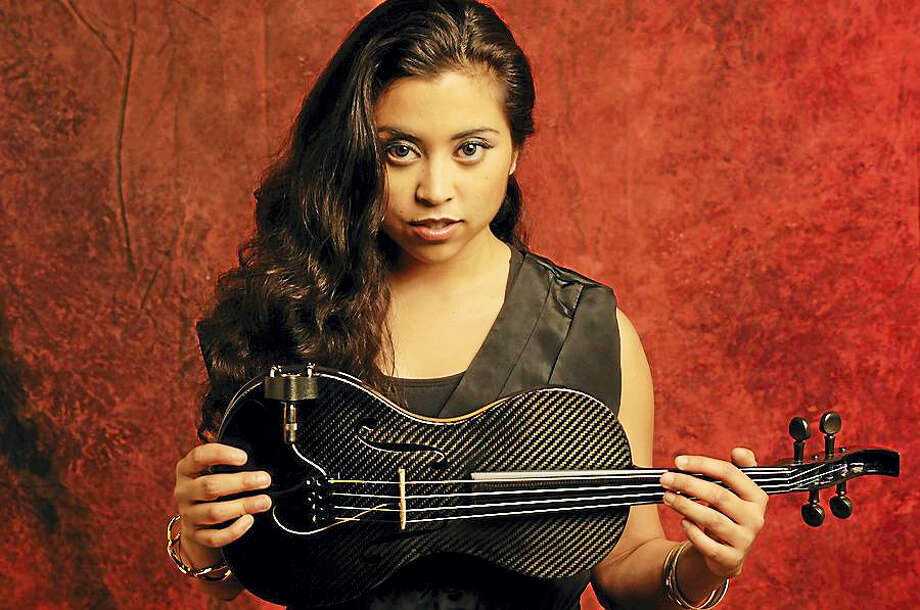 Honduran-American violinist Marissa Licata joins the James Montgomery Band at the Poli Club on Sept. 8. Photo: Contributed Photo