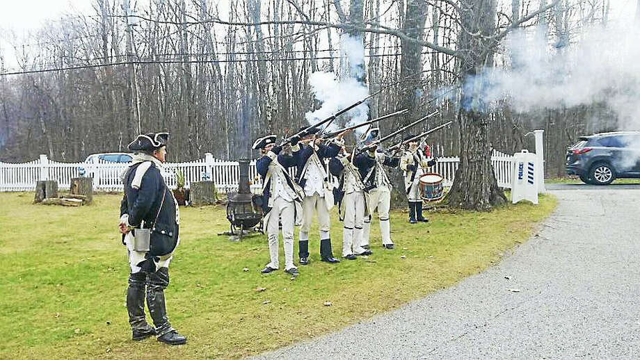 ". On Saturday, August 12 from 10:00 am to 4:00 pm, modern-day re-enactors of the 6th Connecticut Regiment will stage an encampment in the Mansfield House backyard. They portray soldiers and camp followers and will demonstrate musket firing and the manual of arms as written by Baron von Steuben. A camp follower will discuss medicines of the era and the soldiers will engage visitors in discussions about the war. The ""Kiddie Drill"" will allow youngsters to learn the manual of arms using wooden muskets. At 11:00 am Professor Richard Buel will explore both Middletown's contribution to the revolutionary movement and the way the town was changed by its experience of those years. Buel was educated at Amherst College and Harvard University before teaching American History at Wesleyan University for forty years. He is the author of six books dealing with the Revolutiony era, including Dear Liberty: Connecticut's Mobilization for the Revolutionary War, parts of which touch directly on Middletown's experience in the Revolution. The Mansfield House, located at 151 Main Street, is the headquarters of the Middlesex County Historical Society. The Society's current award-winning exhibit, A Vanished Port: Middletown & the Caribbean, 1750-1824 will also be available for viewing. Admission for this event is $5.00 with children 12 and under free. The Mansfield House is handicap accessible and further information is available by calling 860-346-0746. Photo: CREDIT HERE"