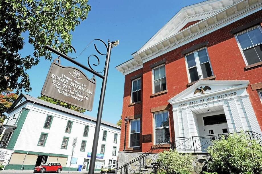 New Milford Town Hall Photo: Register Citizen File Photo