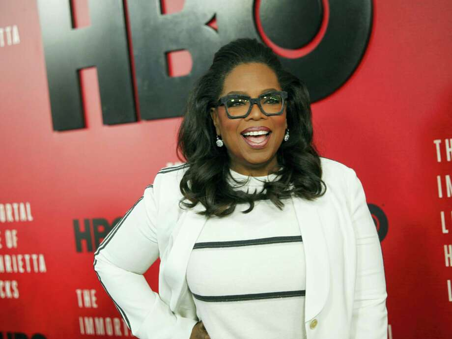 """In this April 18, 2017, file photo, Oprah Winfrey attends the premiere of HBO Films' """"The Immortal Life of Henrietta Lacks"""" at the SVA Theatre in New York. Winfrey told Vogue magazine for an article published online Aug. 14, 2017, that hat the high-profile fluctuations in her weight over the years were a """"physical, spiritual, emotional"""" burden for her, but, at 63, she says there are no more apologies. Photo: Photo By Andy Kropa/Invision/AP, File   / 2017 Invision"""