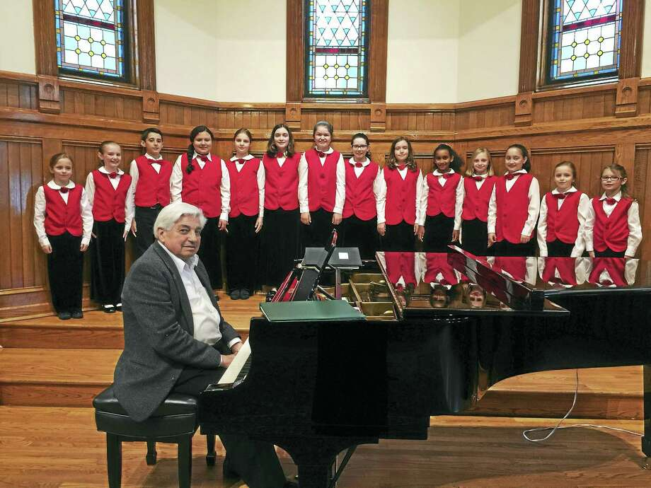 Contributed photo Auditions have begun for the Litchfield County Children's Chorale. Photo: Digital First Media