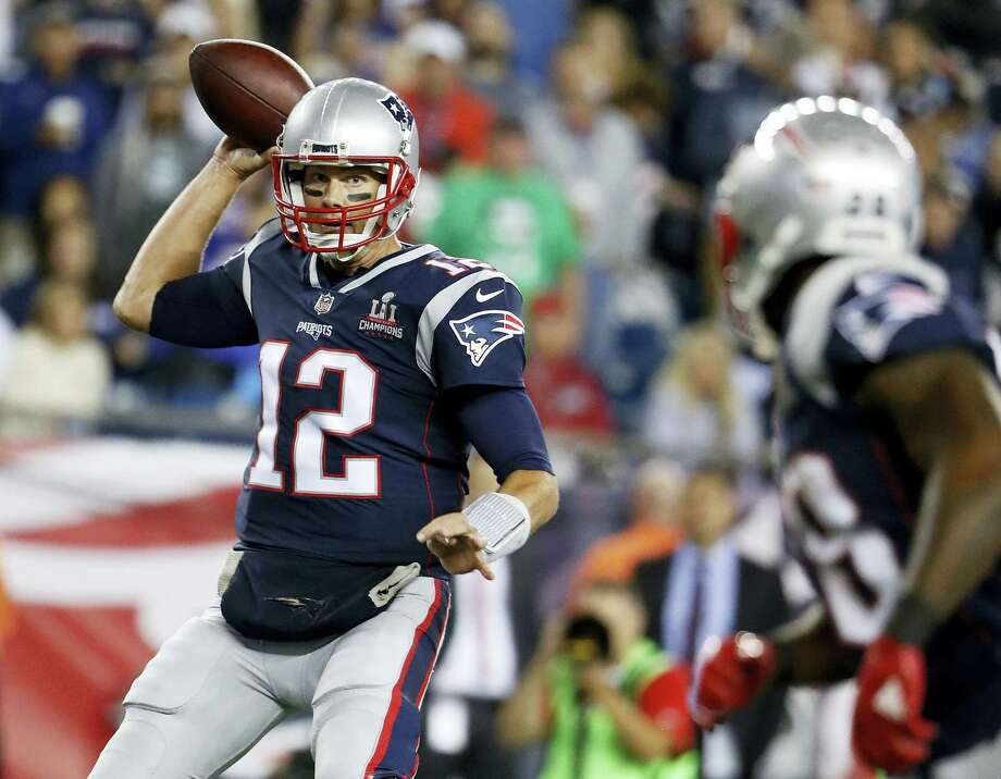 The Register's Dan Nowak likes the Patriots to bounce back this week when they take on the Saints. Photo: The Associated Press File Photo  / Panini