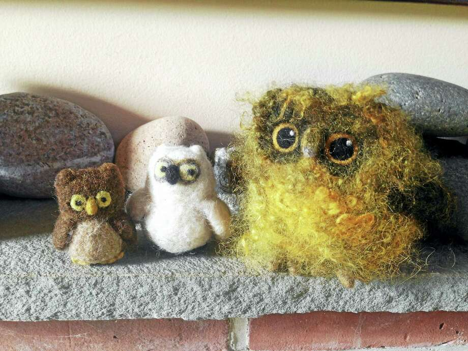 Learn to felt adorable creatures during classes at the Flanders Nature Center starting Aug. 31. Photo: Contributed Photo