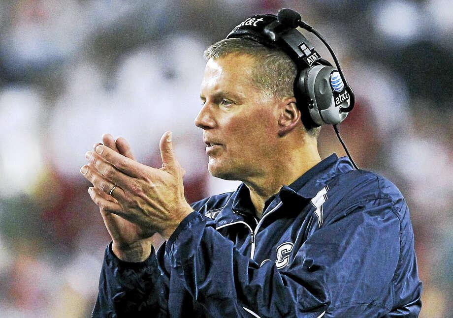 UConn coach Randy Edsall. Photo: The Associated Press File Photo  / AP2011