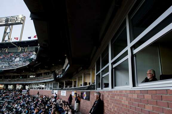 """Giants executive Brian Sabean (right) said, """"Whatever culture we created, whatever atmosphere, that window is closed."""""""