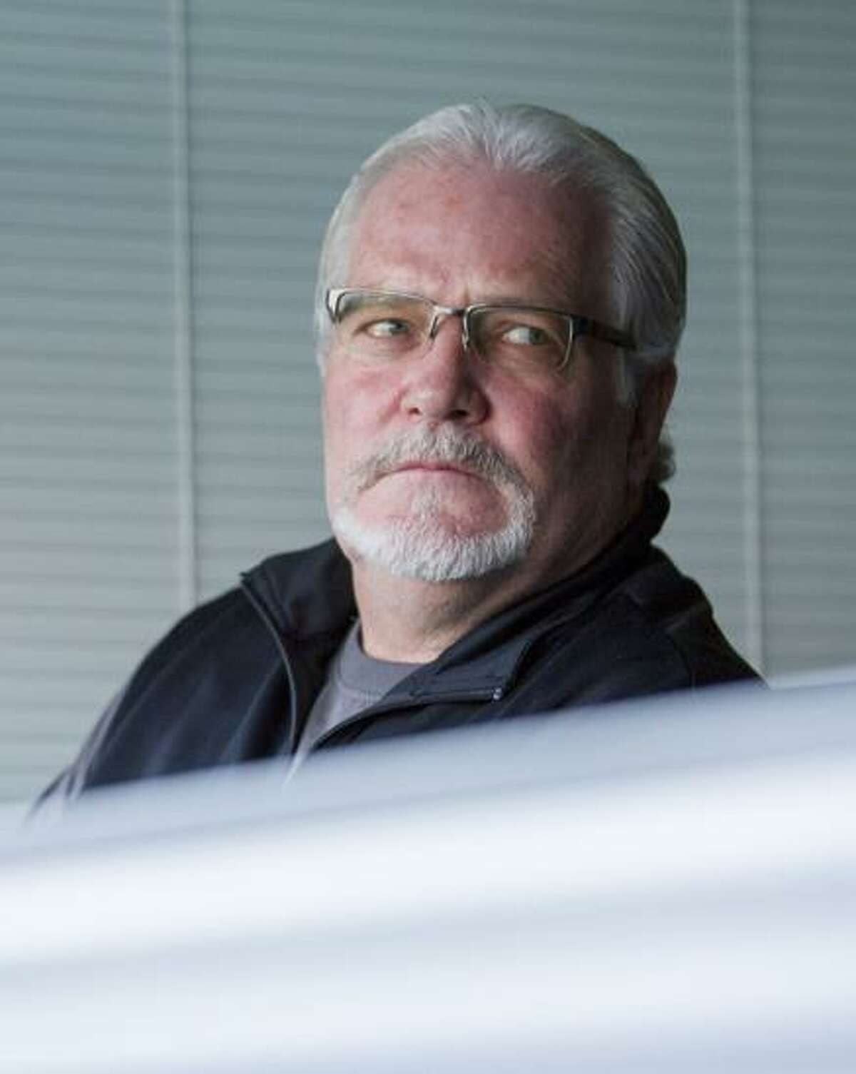 San Francisco Giants general manager Brian Sabean watches the first inning of an MLB game between the Giants and the Arizona Diamondbacks at AT&T Park on Saturday, Sept. 16, 2017, in San Francisco, Calif. The Diamondbacks shutout the Giants 2-0 with a two-run homer in the first inning.