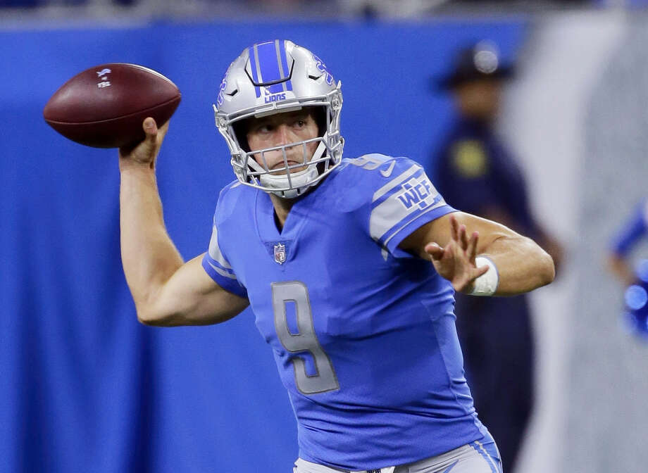 The Register's Dan Nowak is expecting big things from quarterback Matt Stafford and the Detroit Lions this season. Photo: The Associated Press File Photo  / FR38952 AP