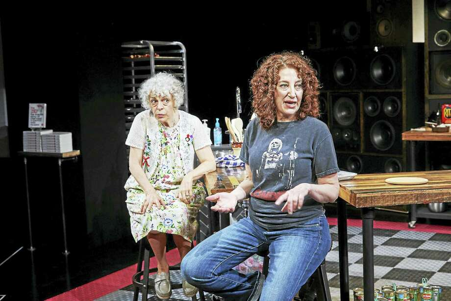 "Marilyn Sokol and Dana Smith-Croll star in ""Raging Skillet"" at TheaterWorks. Photo: Contributed Photo Courtesy Of TheaterWorks"