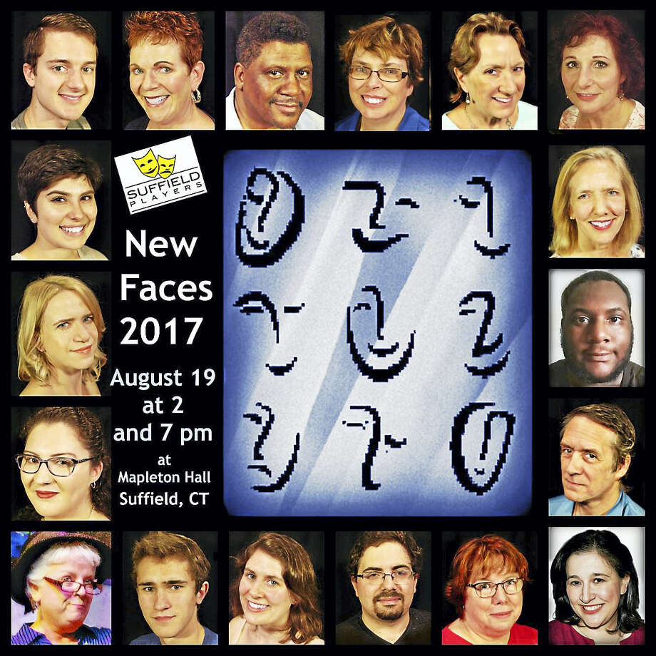 The Suffield Players' New Faces 2017 will be presented on Saturday, Aug. 19 at 2 and 7 p.m. at Mapleton Hall in Suffield. Photo: Contributed Photo