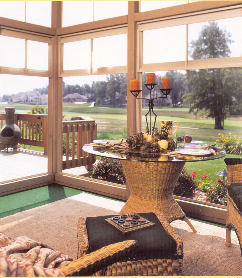 Lighten up your home all year with a wonderful sunroom from American Home Improvement. Call them at 550-7224. Photo: Courtesy Photo