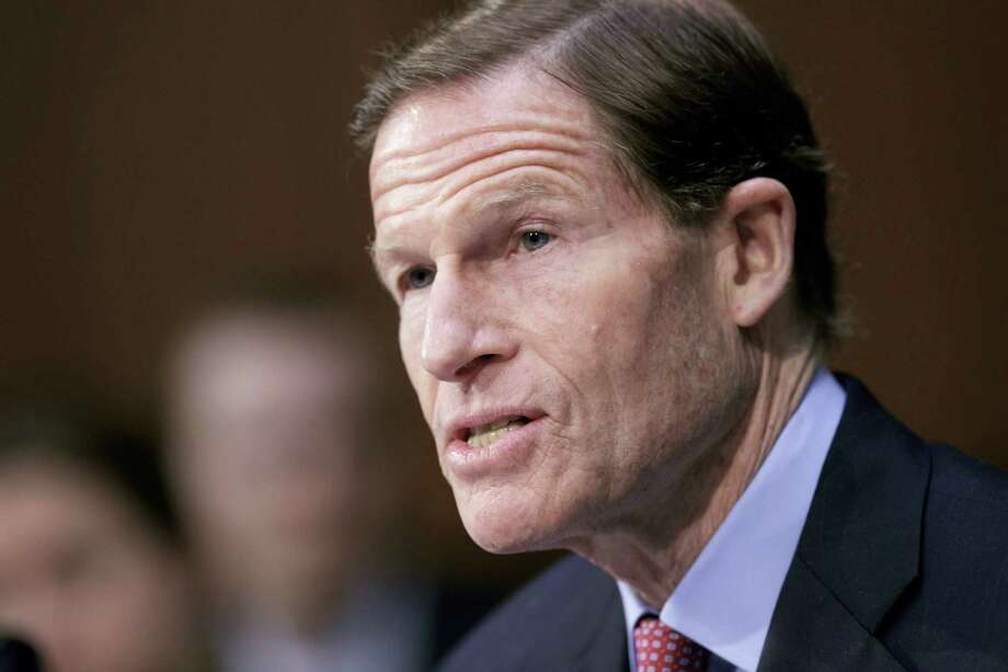 "In this file photo, Sen. Richard Blumenthal, D-Conn. speaks on Capitol Hill in Washington. President Donald Trump on Monday lashed out at Blumenthal, calling him a ""phony Vietnam con artist"" after the lawmaker expressed concerns about the Justice Department's pursuit of leakers and embraced a special counsel's probe of Russia meddling in the election and possible collusion with Trump campaign officials. Photo: J. Scott Applewhite — The Associated Press File  / Copyright 2017 The Associated Press. All rights reserved."
