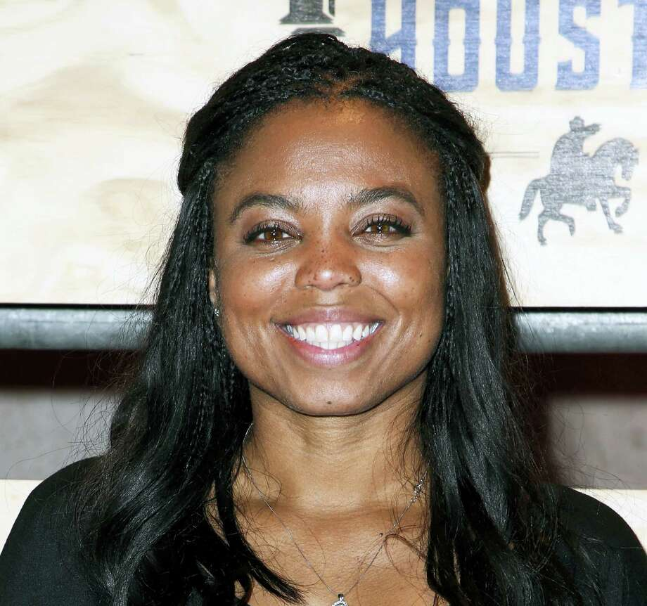 """This is a Feb. 3, 2017, file photo showing Jemele Hill attending ESPN: The Party 2017 in Houston, Texas. ESPN distanced itself from anchor Jemele Hill's tweets one day after she called President Donald Trump """"a white supremacist"""" and """"a bigot."""" """"The comments on Twitter from Jemele Hill regarding the president do not represent the position of ESPN,"""" the network tweeted Tuesday, Sept. 12, 2017, from its public relations department's account. """"We have addressed this with Jemele and she recognizes her actions were inappropriate."""" Photo: Photo By John Salangsang/Invision/AP, File  / 2017 Invision"""