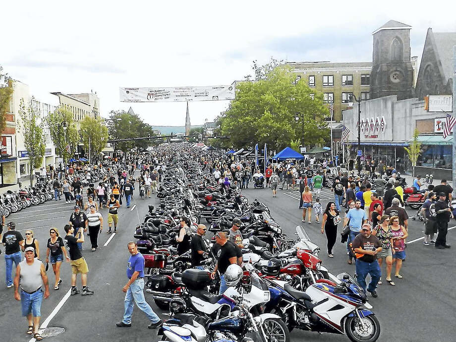 More than 6,000 bikes are expected for 12th annual Middletown Motorcycle Mania on Wednesday on Main Street. This event is held in memory of a founding sponsor, Dan M. Hunter, and is driven by Haymond Law. Photo: De Kine Photo LLC