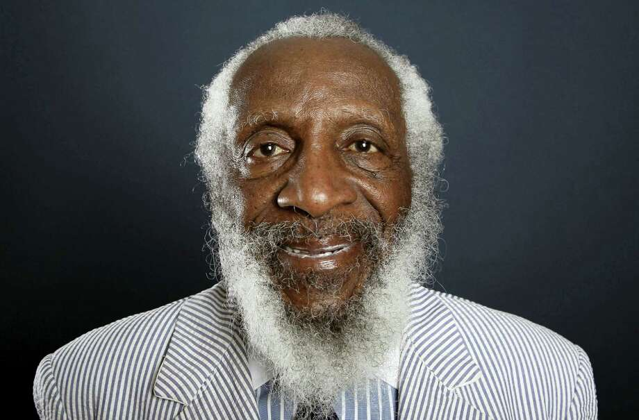 In this July 21, 2012, file photo, comedian and activist Dick Gregory poses for a portrait during the PBS TCA Press Tour in Beverly Hills, Calif. Photo: The Associated Press  / Invision