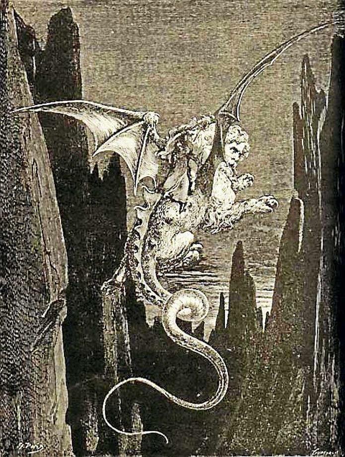 "Gustave Doré's illustration for Dante's ""Inferno"" Photo: File Photo"