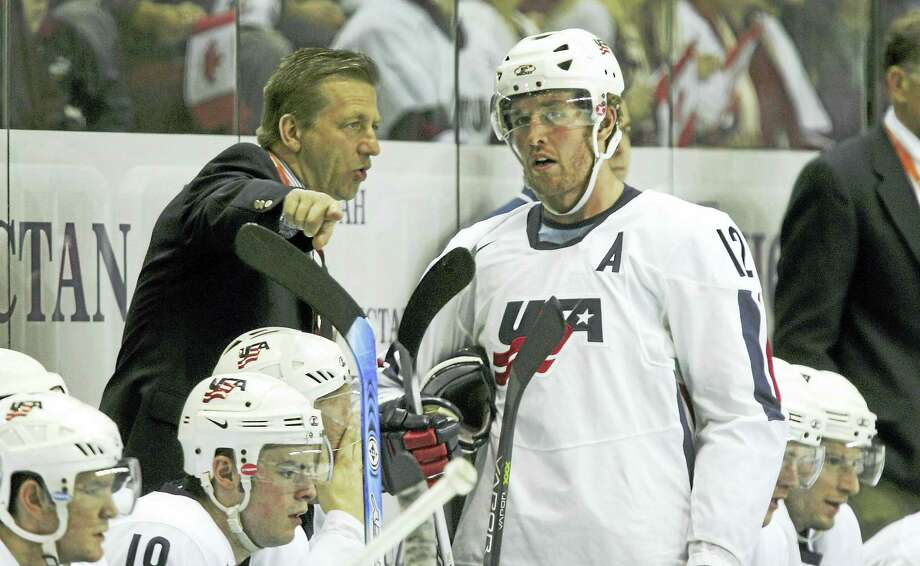 Yale coach Keith Allain will be an assistant coach for USA Hockey for the 2018 Olympics. Photo: Submitted Photo