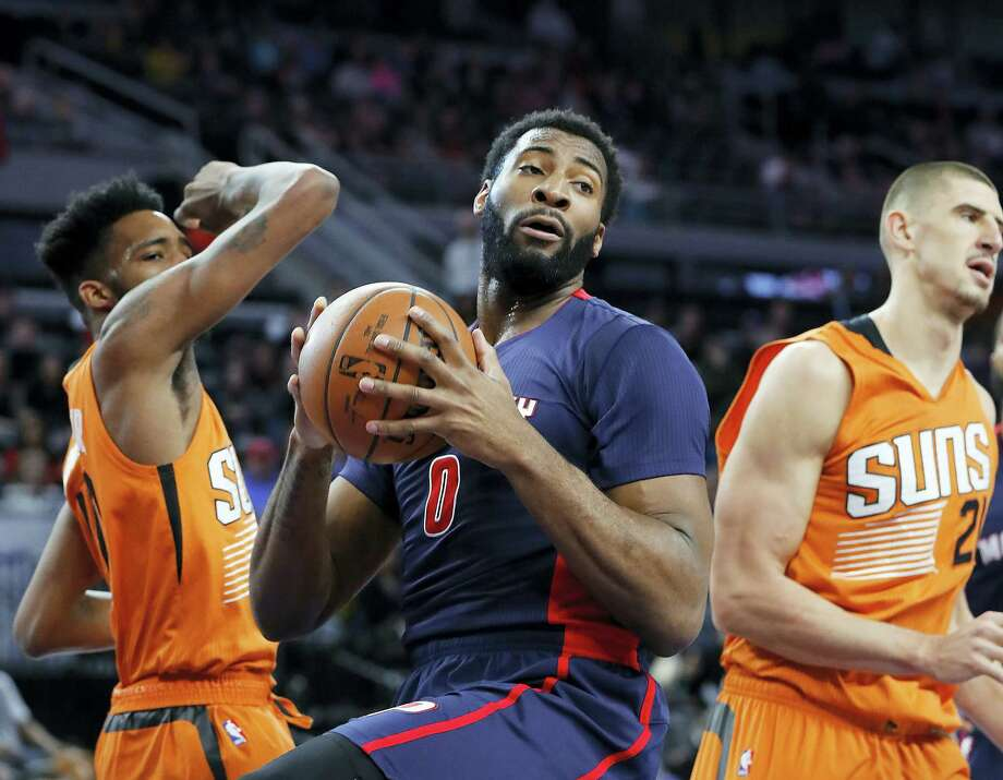 Pistons center Andre Drummond is hoping for a better performance with the Pistons in 2017-18. Photo: The Associated Press File Photo  / Copyright 2017 The Associated Press. All rights reserved.