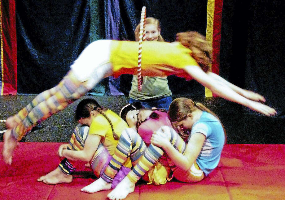 Young people ages 12 to 19 will have the opportunity to receive professional training in circus arts through a unique program with a nearly 30-year history, starting Sept. 12 in Middletown. Photo: Contributed Photo