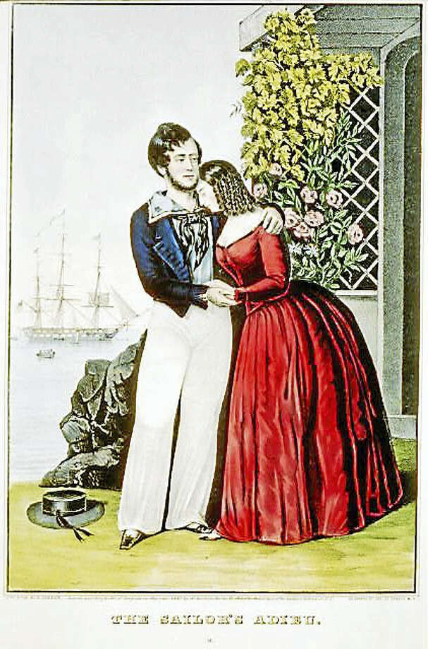 A free, illustrated talk about a married couple who defied convention by going to sea together aboard whaleships, will be presented by Historian and Director of Education at the New England Air Museum Amanda Goodheart Parks at 7 p.m. Sept. 26, at the Essex Library, 33 West Ave. RSVP: 860-767-1560. Photo: Contributed Photo