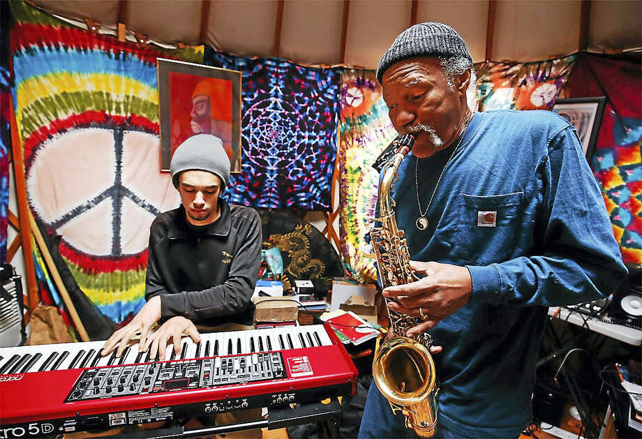 Kalif and Charles Neville will perform Sept. 22 at the Buttonwood Tree in Middletown. Photo: Contributed Photos