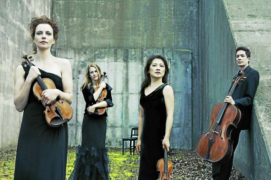 The Daedalus String Quartet with guest artist Tanya Bannister on piano will perform Sunday afternoon at Music Mountain in Falls Village. Photo: Contributed Photo