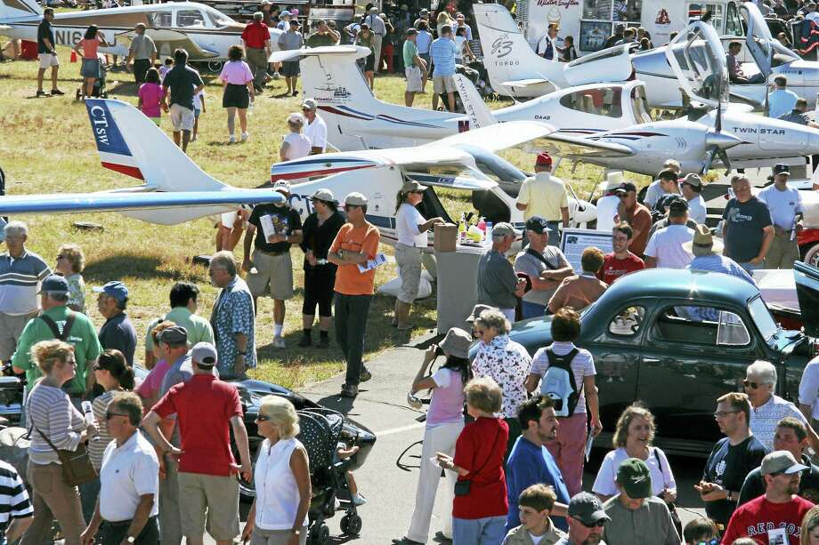 The 32nd annual Simsbury Fly-In and Car Show will be held Sunday, Sept. 17 at the Simsbury Airport. Photo: Contributed Photo