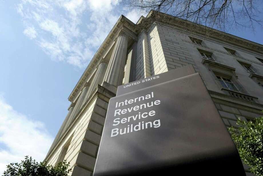 Internal Revenue Service in Washington, D.C. Photo: FILE Photo  / AP
