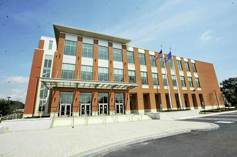 """Ben Lambert / Hearst Connecticut Media The new courthouse, christened the """"Litchfield Judicial Courthouse At Torrington"""" is scheduled to open Monday. Photo: Digital First Media"""
