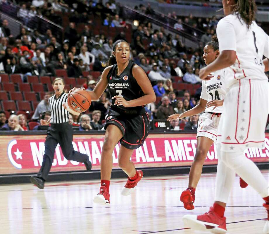 UConn freshman Megan Walker during the McDonald's All-American game in March. Photo: The Associated Press File Photo  / AP
