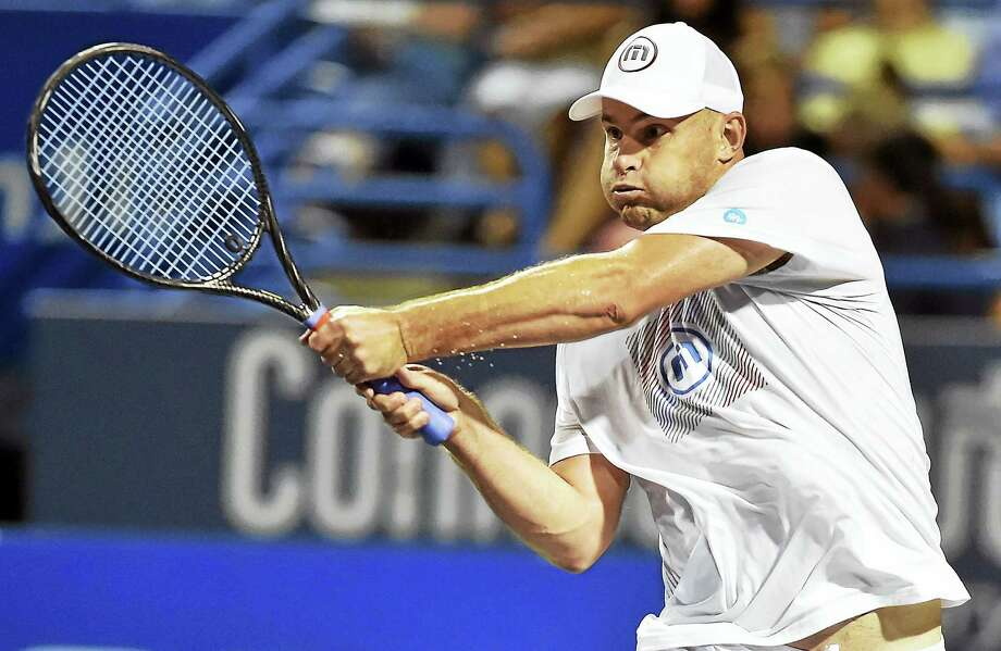 Andy Roddick, who fell to Mark Philippoussis in the 2016 final, will return to the Connecticut Open's Legends event this year. Photo: Hearst Connecticut Media File Photo  / New Haven RegisterThe Middletown Press