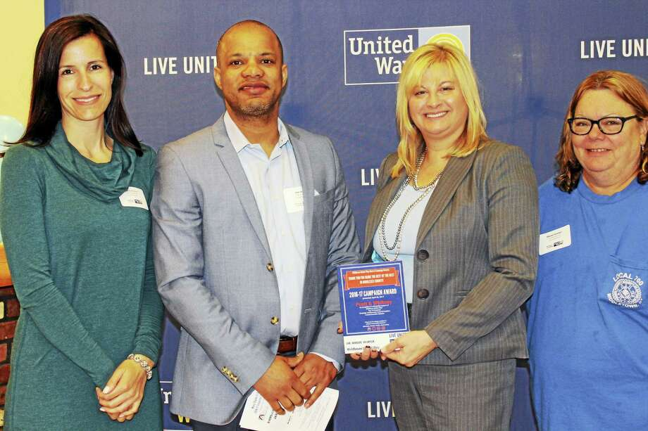 Pratt & Whitney employees took part in the Middlesex United Way's 2017 campaign award breakfast recently. Photo: Contributed Photo