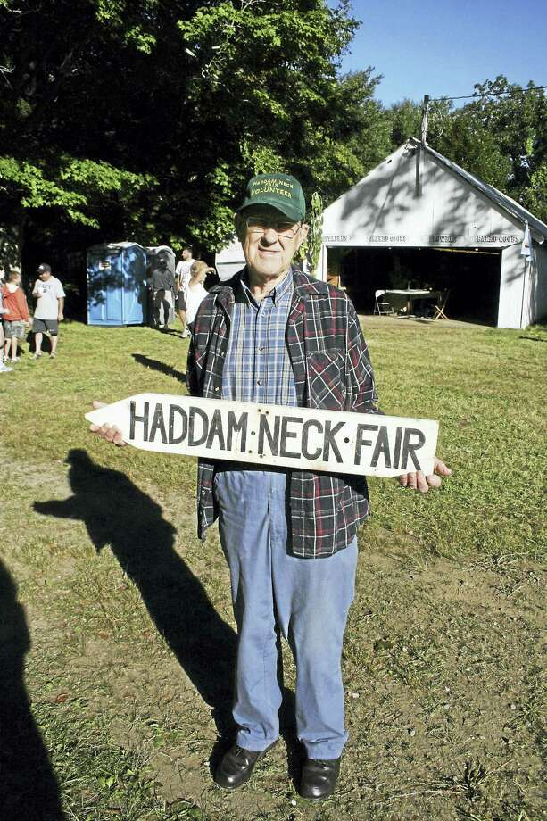 Haddam Neck Fair Tour Sunday, September 3, 2017 2:30 to 3:15 pm Meet in front of the Haddam Neck Grange Hall Free with admission to the fair Join Haddam Historical Society Executive Director, Elizabeth Malloy for a fun and informative tour of the Haddam Neck Fair Grounds. Co-author of the Haddam Neck Fair 100 Year History, Malloy will cover architectural highlights and historical anecdotes. Participants will meet long time fair attendees (90 plus years) and former winners of the baby contest. Visitors will learn fascinating tidbits about one of Connecticut's oldest agricultural fairs.  The tour will start at the front of the Grange Hall.   Photo: Harry Nilsen (Former Fair Director and attended most fairs in his 90 years)   Elizabeth Hart Malloy Executive Director Photo: CREDIT HERE