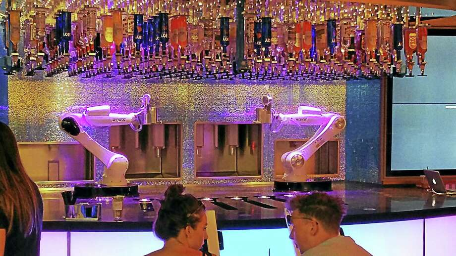 Automated bartenders on the Las Vegas Strip mix up your favorite cocktails. Photo: Contributed Photo / Cornell Wright