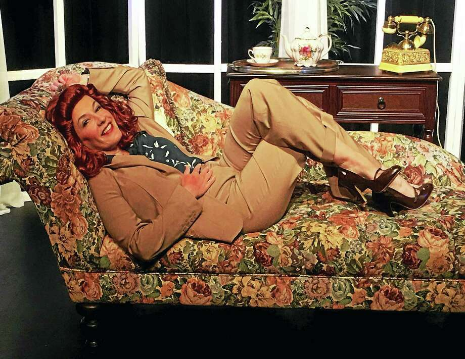 """Tea at Five"" explores the career of Katharine Hepburn, told by the actress herself played by Kelly Boucher, at the Connecticut Cabaret Theatre. Photo: Contributed Photo"