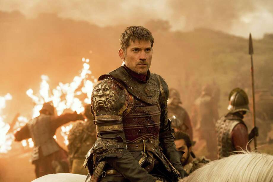 "This file image released by HBO shows Nikolaj Coster-Waldau as Jaime Lannister in an episode of ""Game of Thrones,"" which aired Sunday, Aug. 6, 2017. Hackers released a July 27, 2017, email from HBO in which the company expressed willingness to pay them $250,000 as part of a negotiation over electronic data swiped from HBO's servers. The hacked HBO material included scripts from five ""Game of Thrones"" episodes. HBO declined to comment. A person close to the investigation confirmed the authenticity of the email, but said it was an attempt to buy time and assess the situation. Photo: Macall B. Polay / HBO Via AP, File  / HBO"