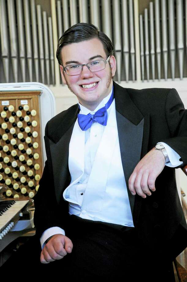 Organist Ben Henderson will give a concert in Madison on Aug. 9. Photo: Contributed Photo