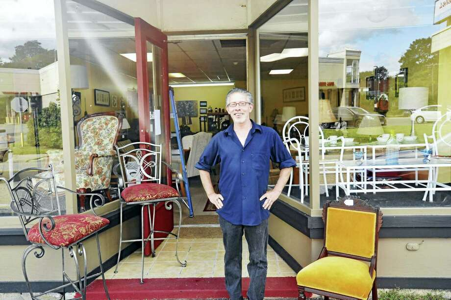 Torrington resident Mark Lord, above, recently opened Lord's Home Again Furnishings on Main Street. Photo: Ben Lambert / Hearst Connecticut Media