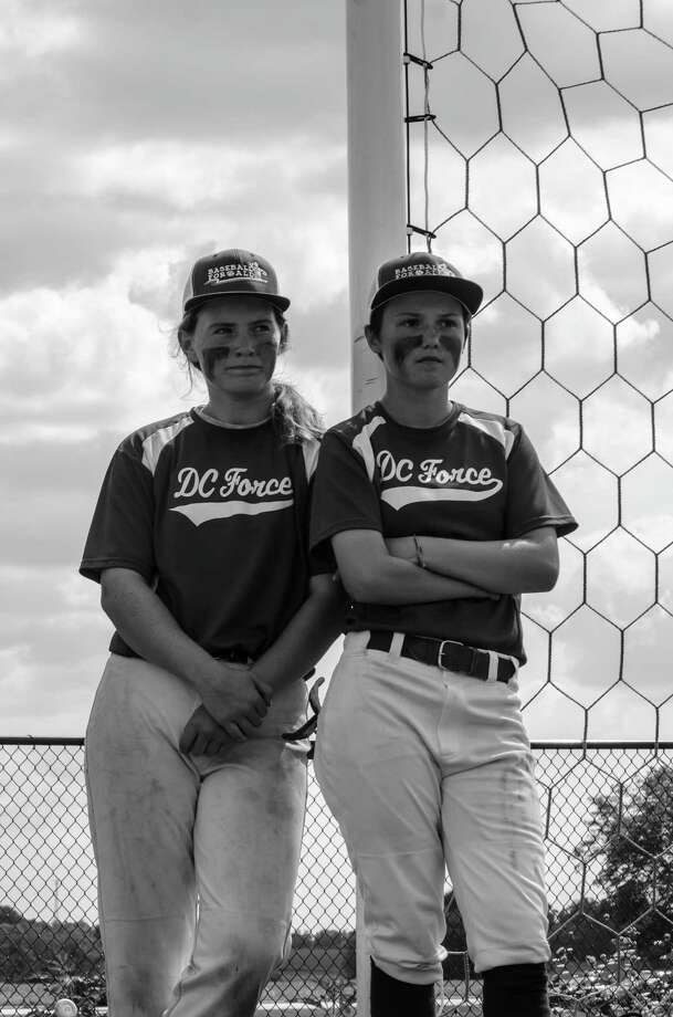 photo / Theron Camp DC Force teammates Paloma Benach, 13, left, and Brittany Apgar, 13, who lives in Greensboro, N.C. They just won a national tournament last week. Photo: HANDOUT / HANDOUT